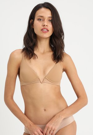 PADDED BRA WITHOUT WIRE - Push-up bra - nude