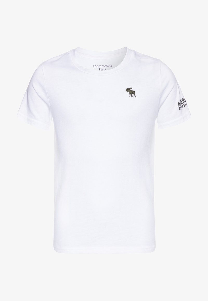 Abercrombie & Fitch - FLEX ITEM  - Print T-shirt - white