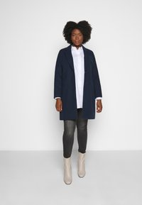 CAPSULE by Simply Be - SINGLE BREASTED COAT - Classic coat - navy - 1