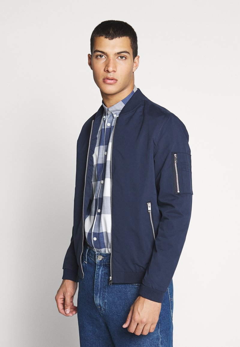 Jack & Jones - JERUSH - Bomberjacka - navy blazer