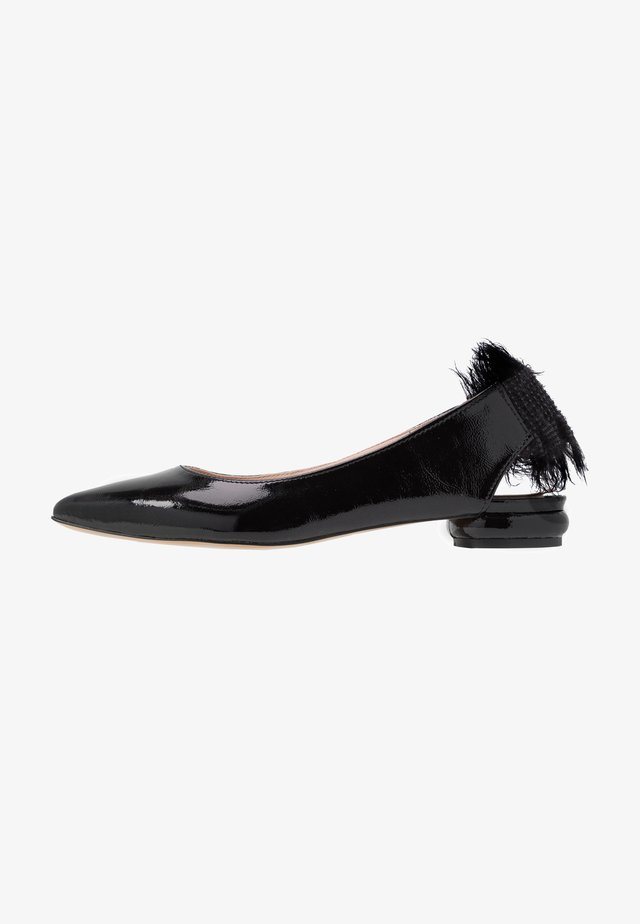 SAY MY NAME - Slingback ballerina´s - black
