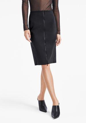 LIANA - Pencil skirt - black