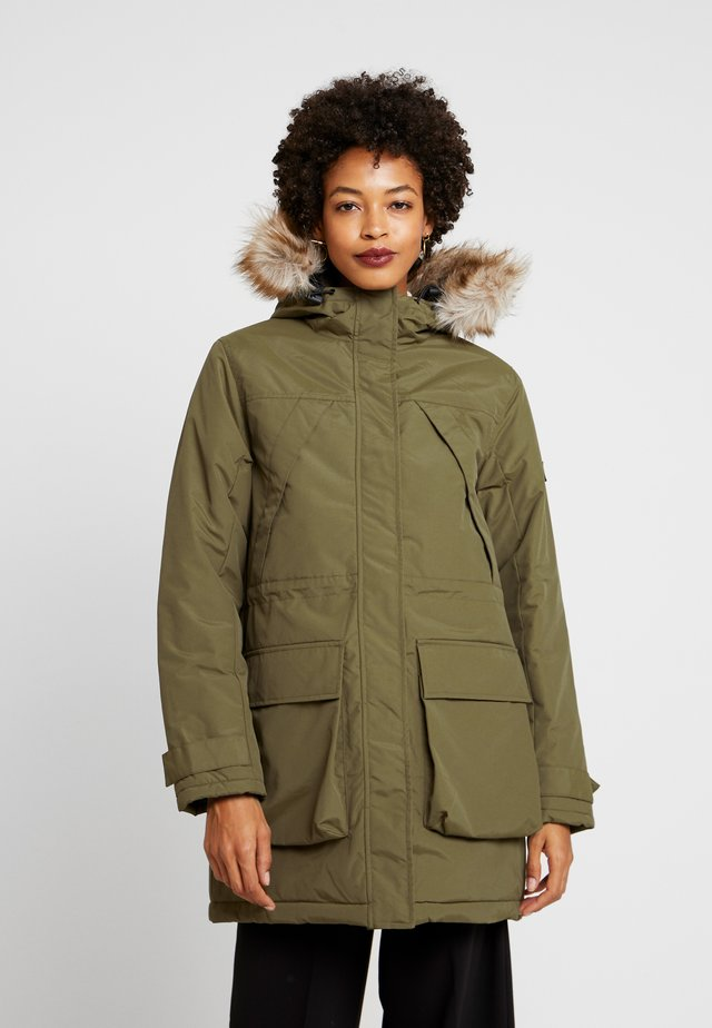 HILLSIDE - Winter coat - dark olive