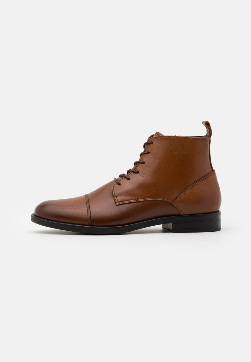 LAST STUDIO - VELVEL - Lace-up ankle boots - brown
