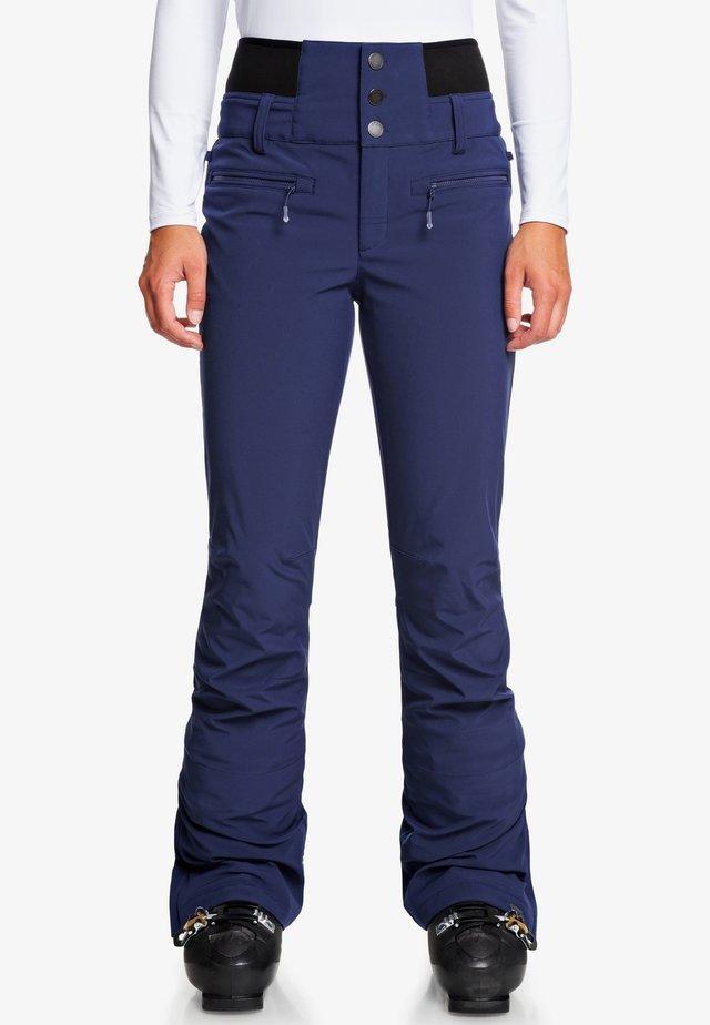 RISING HIGH  - Snow pants - medieval blue