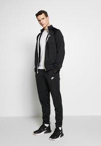 Nike Sportswear - SUIT - Tracksuit - black/white - 1