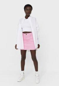 Stradivarius - Mini skirt - pink - 1
