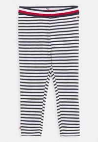 Tommy Hilfiger - BABY  - Leggings - Trousers - navy - 0