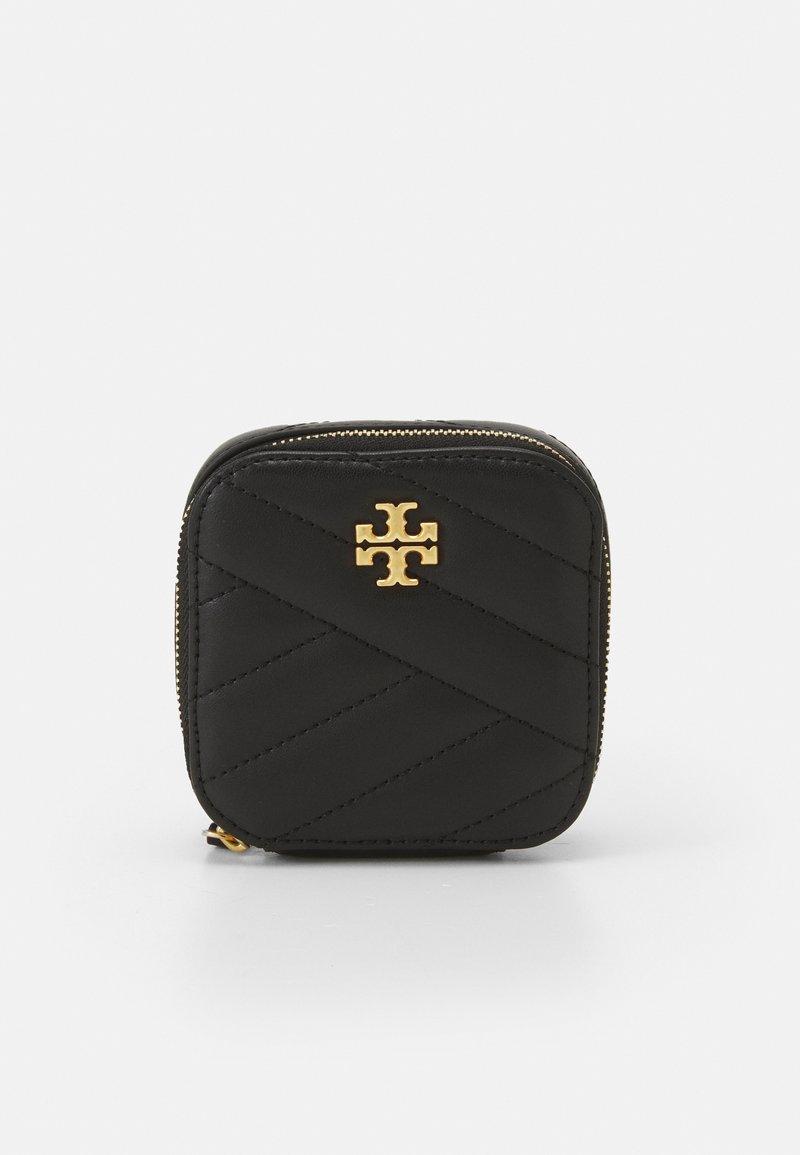 Tory Burch - KIRA CHEVRON JEWELRY BOX - Wash bag - black