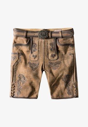 Leather trousers - kitt geäscht