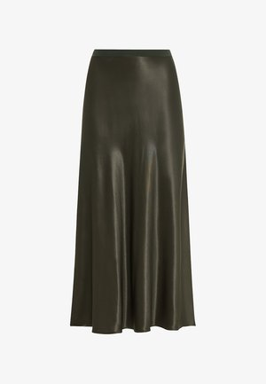 Pleated skirt - olive
