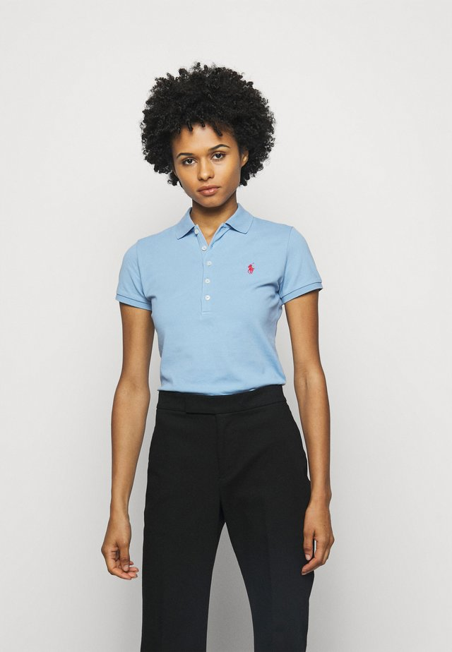 JULIE SHORT SLEEVE - Polo shirt - carolina blue