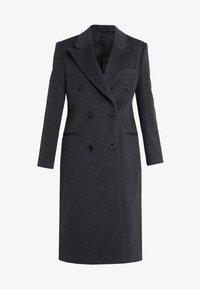 SALVIA - Classic coat - dark grey melange