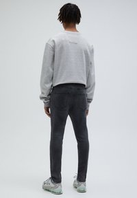PULL&BEAR - Slim fit -farkut - dark grey - 2