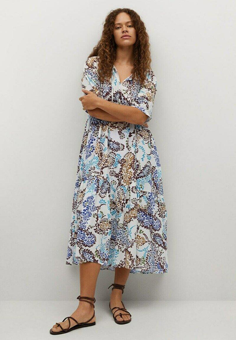Violeta by Mango - Day dress - cremeweiß