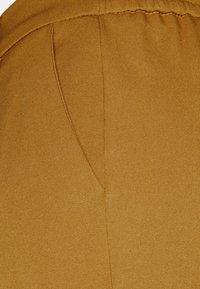 Object - OBJLISA SLIM PANT SEASONAL - Trousers - tapenade - 2