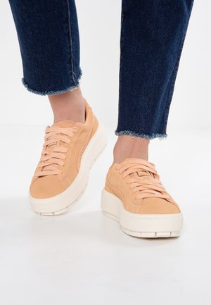 PLATFORM TRACE ANIMAL - Trainers - dusty coral/metallic bronze