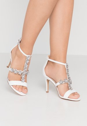 DAISY - High heeled sandals - white