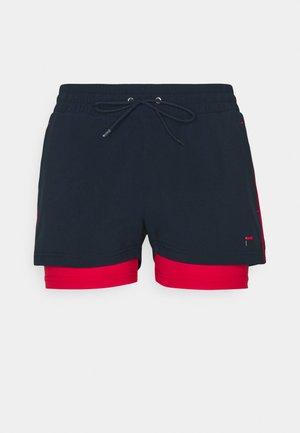 SHORTS EVIE - Sports shorts - peacot blue