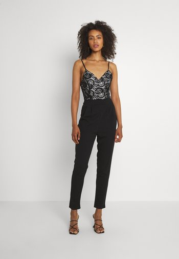 FARI - Jumpsuit - black/white