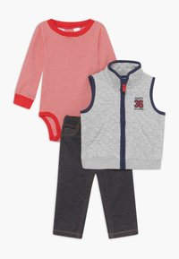 Carter's - ALL STAR SET - Bodywarmer - grey/blue denim - 0