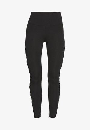 CRISS CROSS LEGGING - Leggings - black