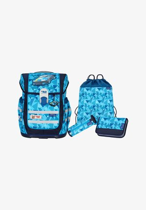 Schooltas set - light blue