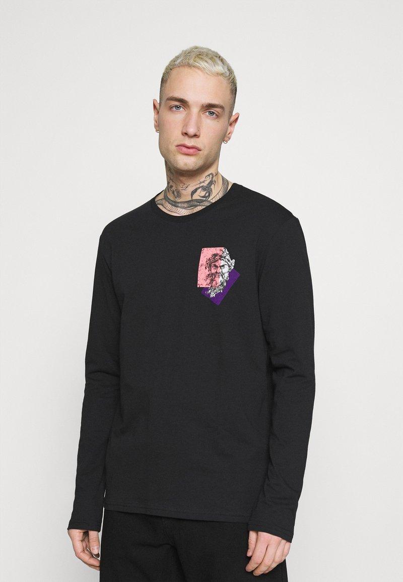 Zign - UNISEX - T-shirt z nadrukiem - black