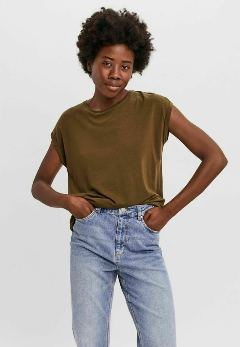 Vero Moda - T-shirt - bas - dark olive