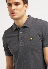 Lyle & Scott - Piké - charcoal marl - 3