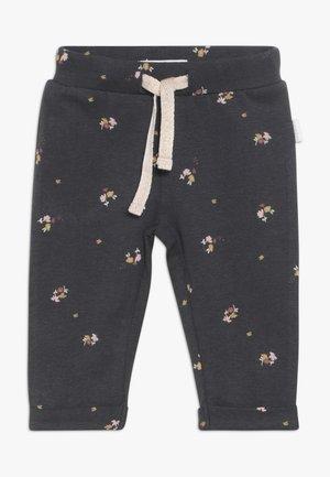 SLIM FIT PANTS CASTRO VALLY  - Trousers - ebony