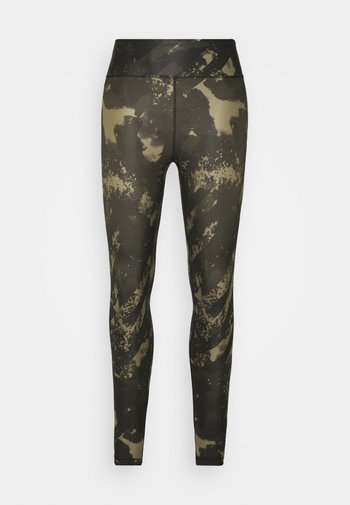 PRINTED SPORT - Tights - boost green