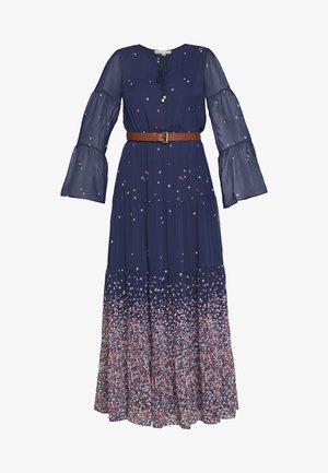 TIER MAXI - Robe longue - dark blue