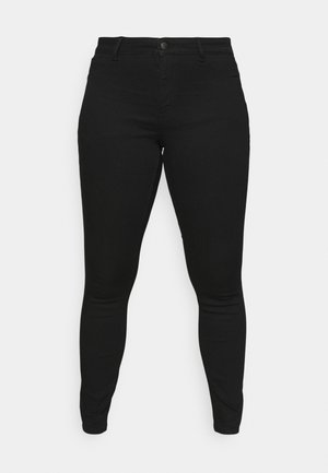 PCSHAPE-UP  - Jeans Tapered Fit - black