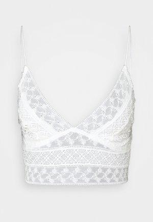 CARINA BRALETTE - Bustier - white