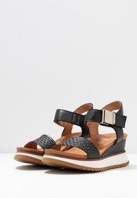 Felmini - KAREN - Sandály na platformě - black - 4