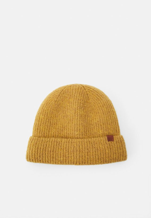 BEANIE - Muts - dark yellow