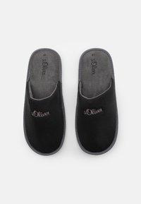 s.Oliver - Slippers - black - 3