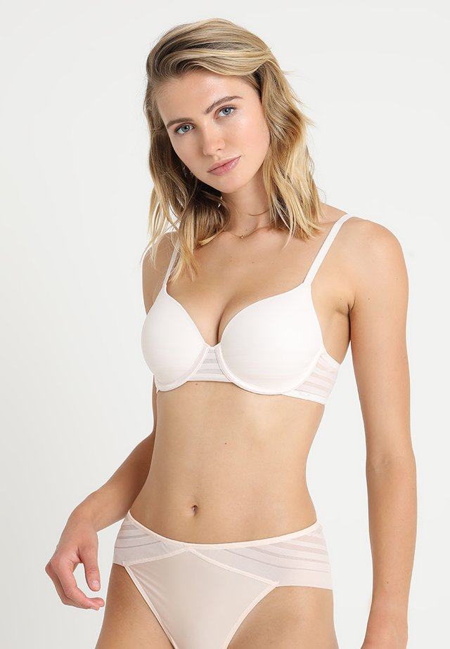 FULL COVERAGE BRA MODERN LINES - Underwired bra - vanilla