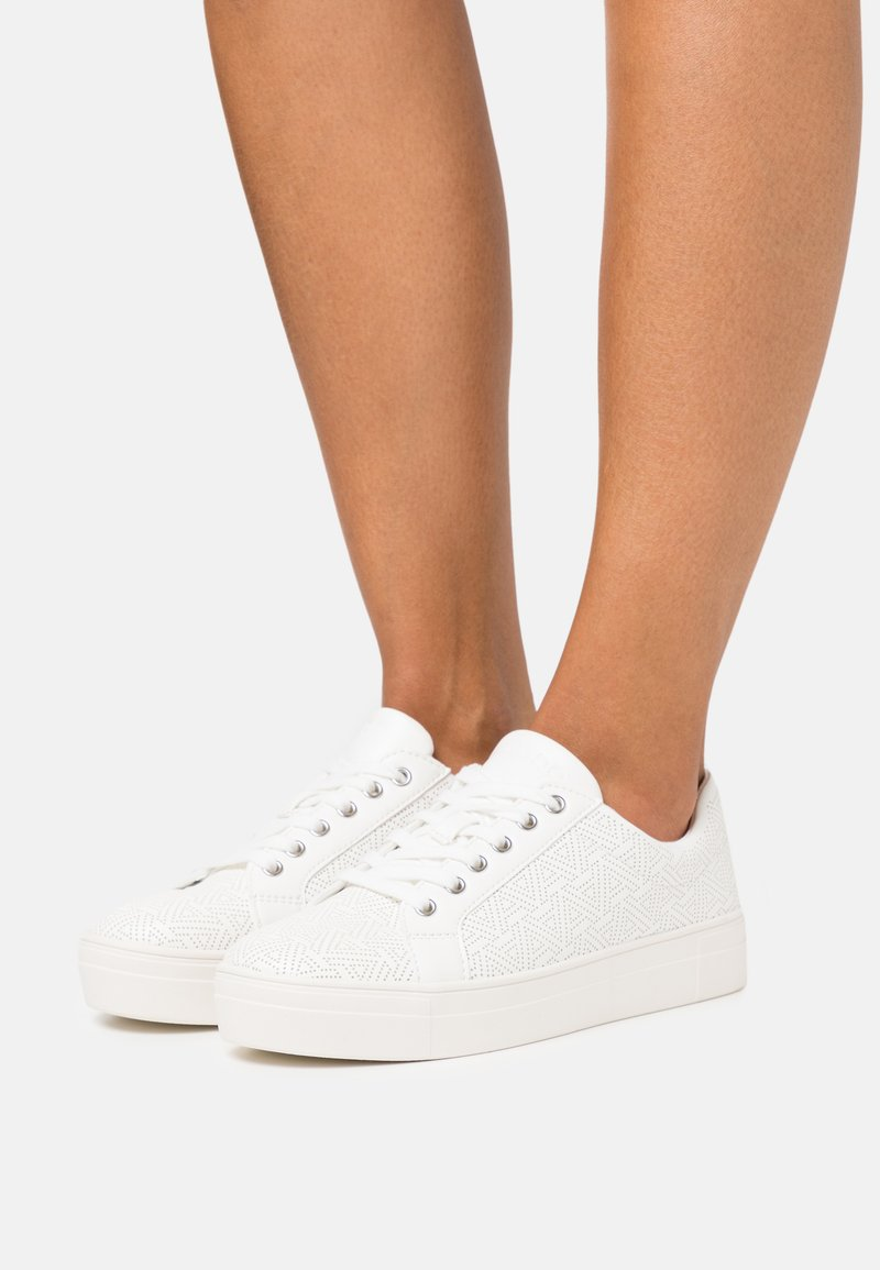 ALDO Wide Fit - LOVIRECLYA - Trainers - other white