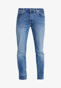Jack & Jones - JJITIM JJORIGINAL - Slim fit jeans - blue denim - 4