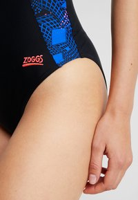 Zoggs - ILLUSION ATOMBACK - Swimsuit - black - 5