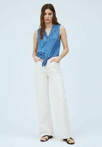 Pepe Jeans - BAY - Button-down blouse - denim - 1