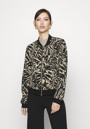 NMELLA DOLLY JACKET - Bomber Jacket - chateau gray/black