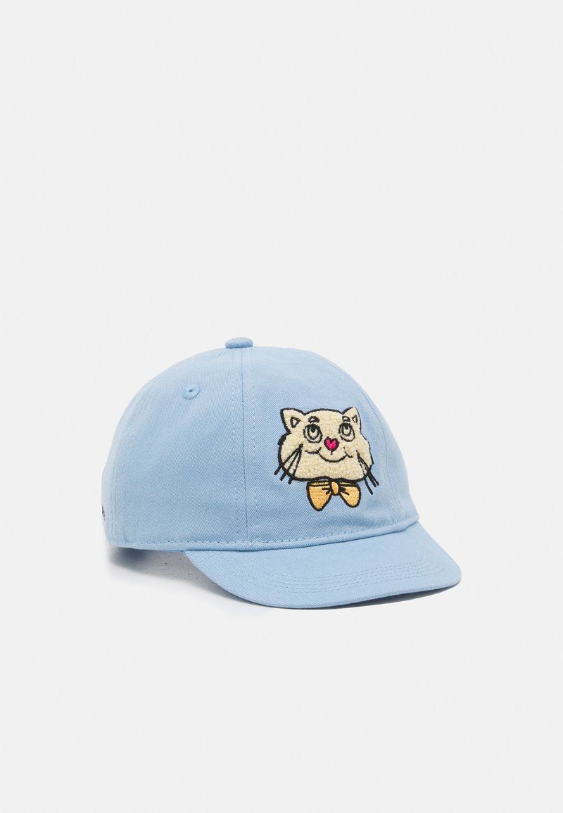 Mini Rodini - CAT UNISEX - Kšiltovka - light blue