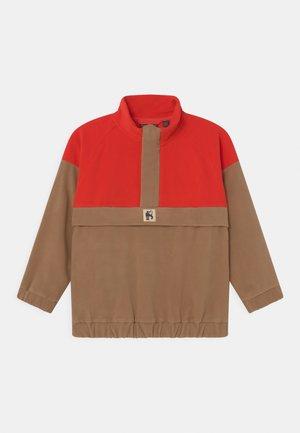 ZIP UNISEX - Fleece jumper - brown