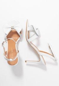 L37 - SUMMER WINE - Højhælede sandaletter / Højhælede sandaler - white - 3