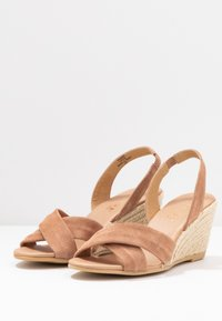 Office Wide Fit - MILLS - Espadrilles - taupe - 4