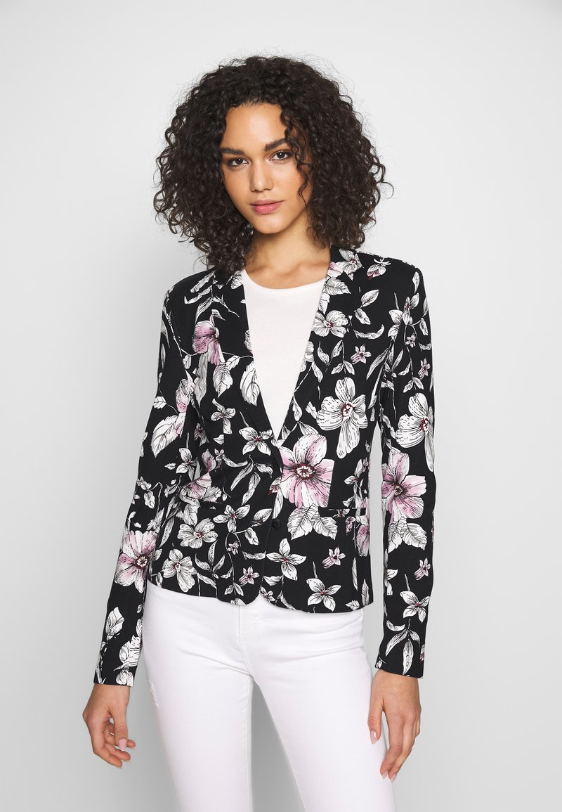 ONLY - ONLPOPTRASH PRINT - Blazer - night sky/flower leaf