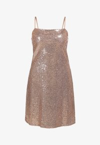 myMo at night - PAILLETTENKLEID - Cocktail dress / Party dress - rosa gold - 4
